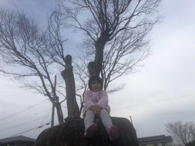 公園にて(次女)