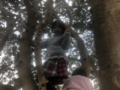 公園にて(長女)