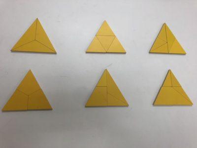 三角パズル3~5ピース