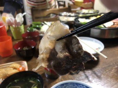 焼いた猪肉