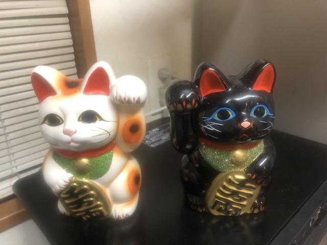 招き猫の正しい並べ方
