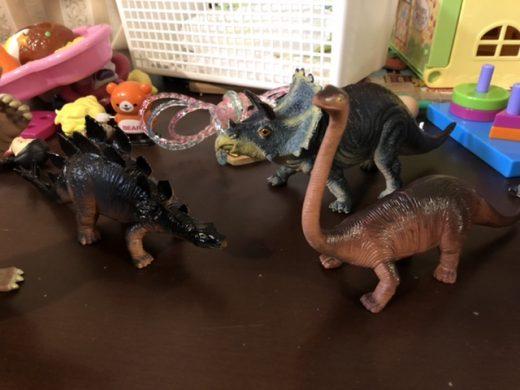 いつの間にか増えた恐竜たち