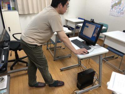 オンライン授業の風景2