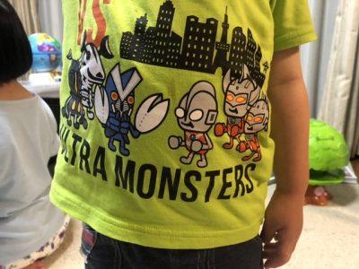 ウルトラマンのTシャツ