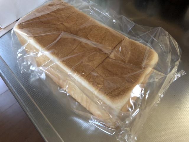買った食パン