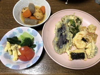 てんぷら3~夕飯の三菜