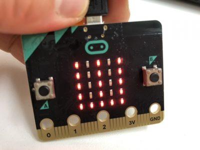 microbitでじゃんけんパー