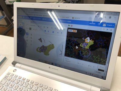 プログラミング講座 Scratch カエル??(笑)